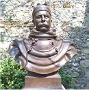 Bronze bust of William Walker