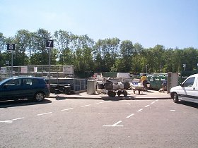 The new Recycling Centre in Bar End Road, plus a link to the Project Integra web site.
