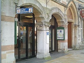 The Tourist Information Centre in the Guildhall, and a link to Tourist Information