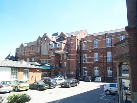 Royal Hampshire County Hospital, plus a link to the Hospital web site.