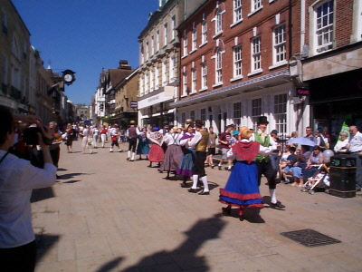 Dancing in the High Street